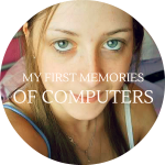 My first memories of computers and the Internet.