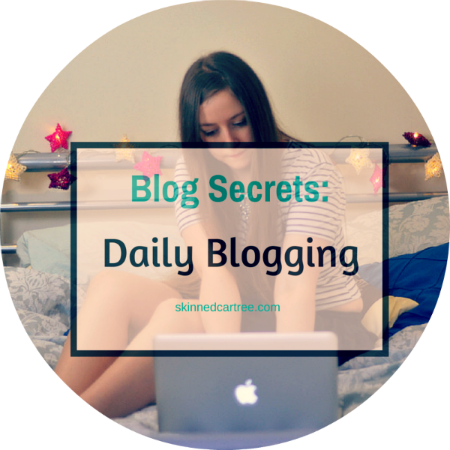 how to blog daily
