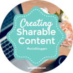 #socialbloggers 54 // Sharable Content