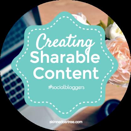 #socialbloggers 54 // Sharable Content