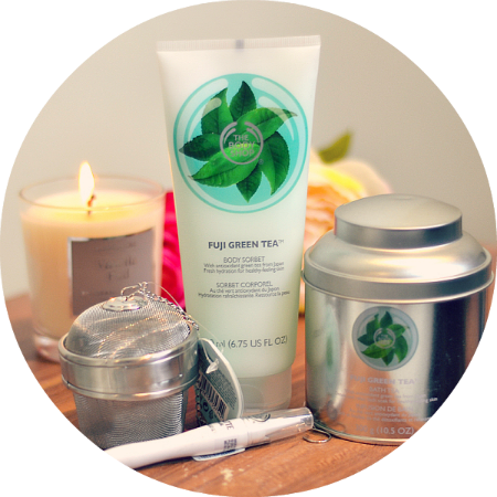 The Bodyshop Fuji Green Tea Range