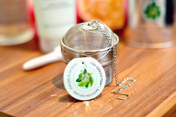 Fuji Green Tea Bath Tea Infuser