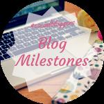 #socialbloggers 64 // Blog Milestones