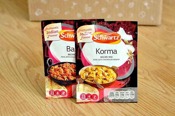 Schwartz Korma and Balti Mix