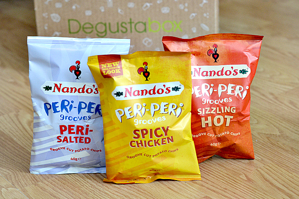 Nando's Grooves Cut Potato Chips