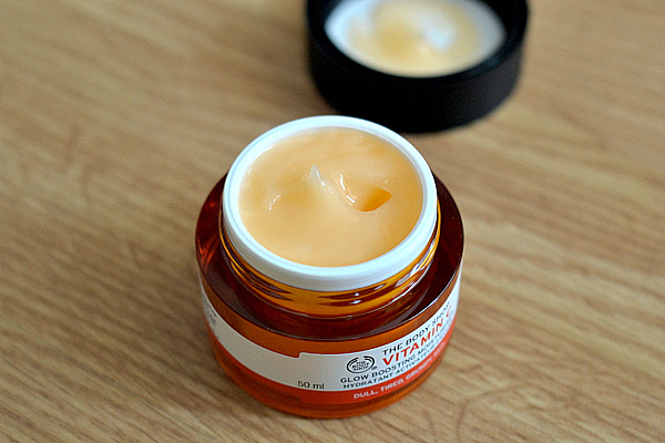 The Body Shop Vitamin C Glow Boosting Moisturiser.
