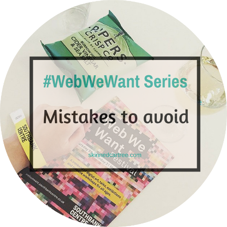 Mistakes to avoid if you want to take blogging seriously