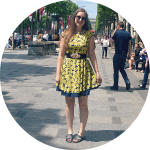 Paris #OOTD // Sunflower Dress