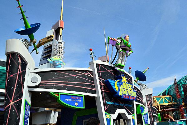 Buzz Lightyear's Lazar Blast.
