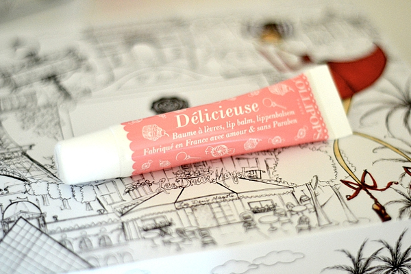 Glossybox July 2015 lollipops Lip Balm Délicieuse