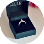 Princess Crown Ring from Jeulia