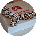 Snow White Statement Necklace from Happiness Boutique
