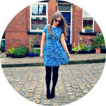 Garden Print Tea Dress from Apricot Online