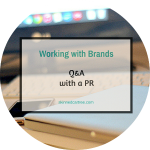 Working with Brands // Q&A with a PR