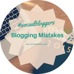 #socialbloggers 70 // Blogging Mistakes