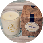 Lavender Candle from Amphora Aromatics