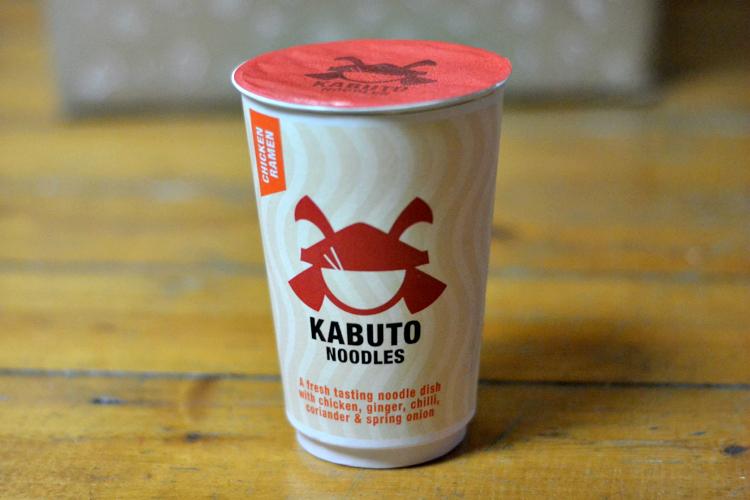 degustabox october Kabuto Chicken Ramen
