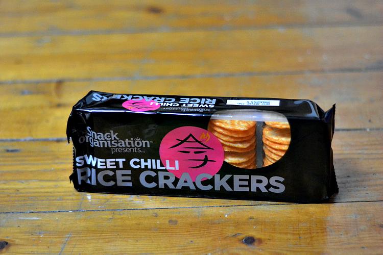 The Snack Organisation Sweet Chilli Rice Crackers degustabox october