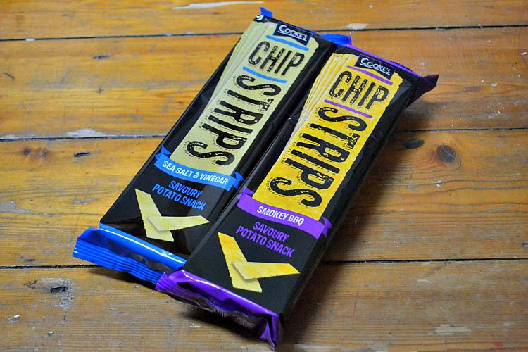 degustabox october Chip Strips