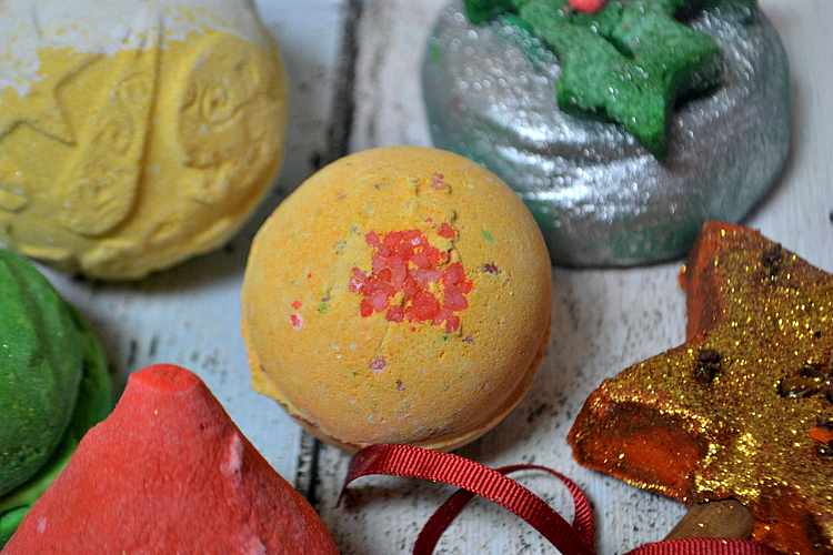lush christmas range popping candy