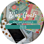 My Blog Goals for 2016