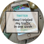 How I tripled my traffic from Twitter in just a week.