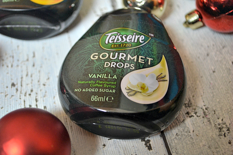 degustabox november Teissere Vanilla and Caramel Coffee Syrup