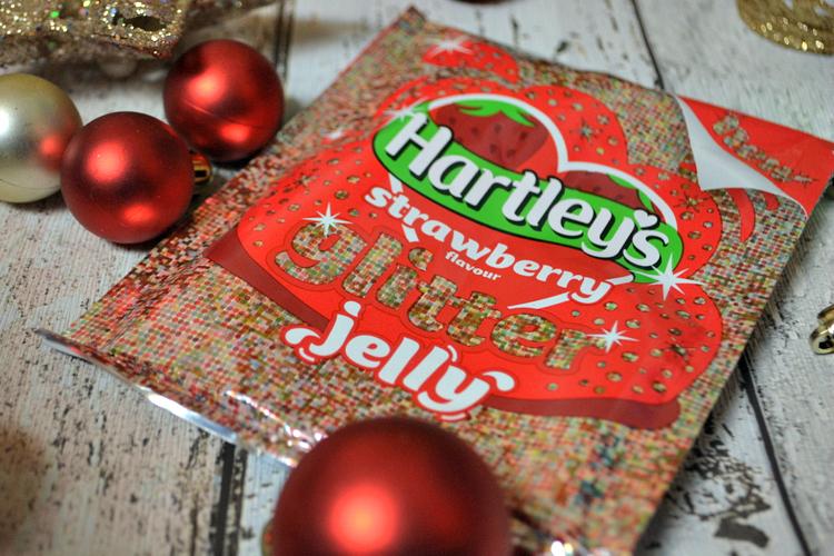 november degustabox hartleys glitter jelly