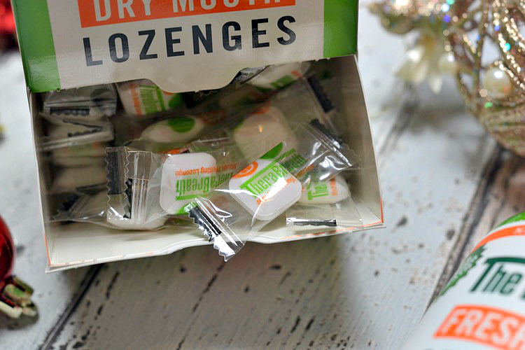 The Breath Co Fresh Breath Dry Mouth Lozenges