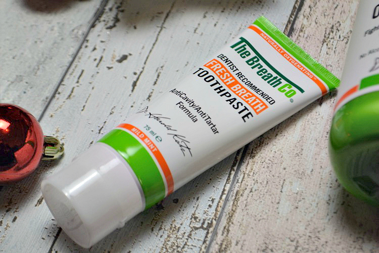The Breath Co Fresh Breath Toothpaste