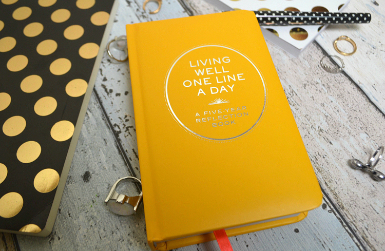 5 Year Diary // Living Well One Line A Day