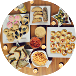 Malta Inspired Party Food // Vegetarian Style
