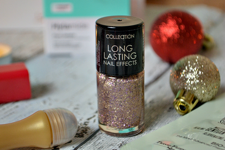 Glossybox December 2015 collection long lasting nail effects