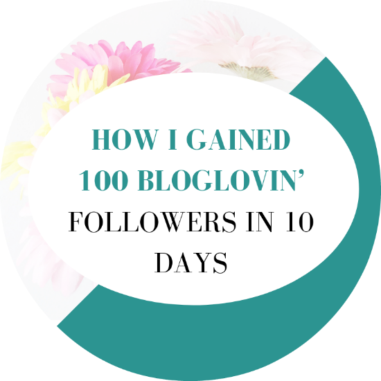 how to get more bloglovin followers