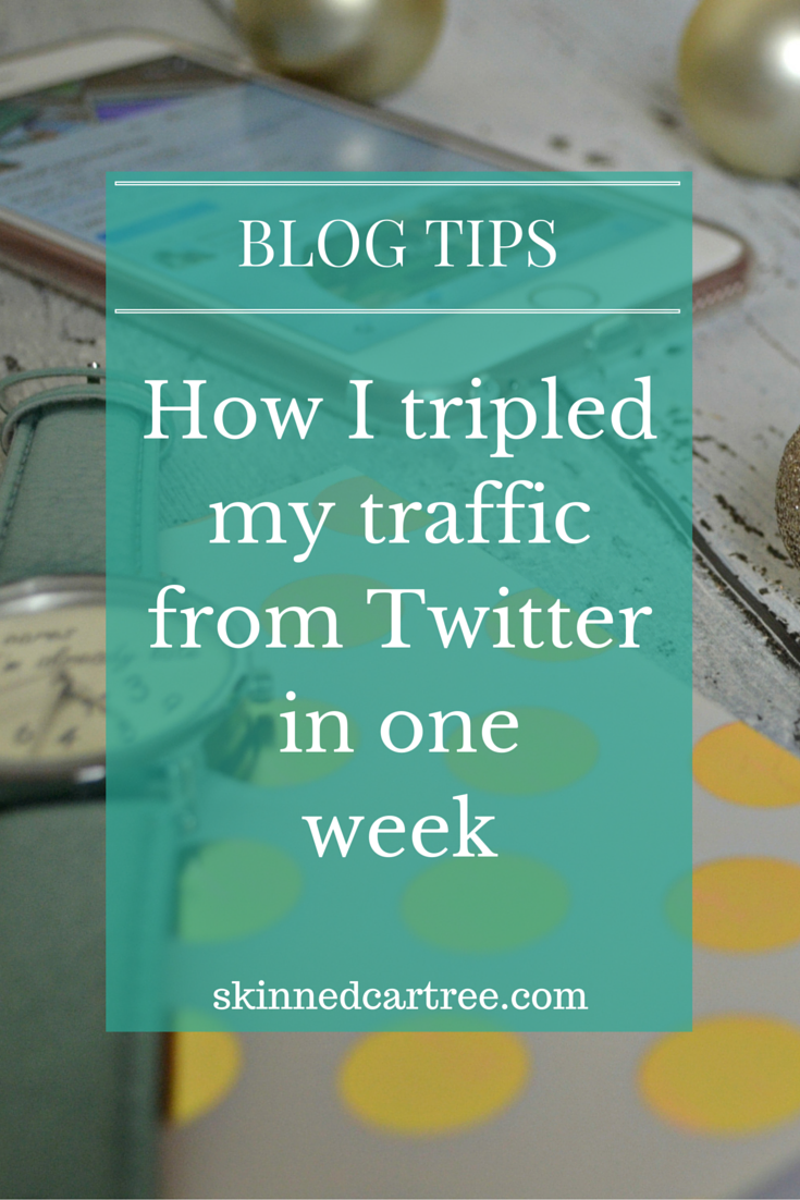 how to get traffic from twitter