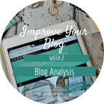 Analyse Other Peoples Blogs // 8 Weeks to #ImproveYourBlog
