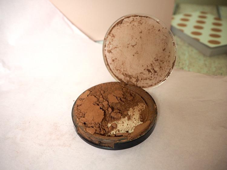 smashed bronzer