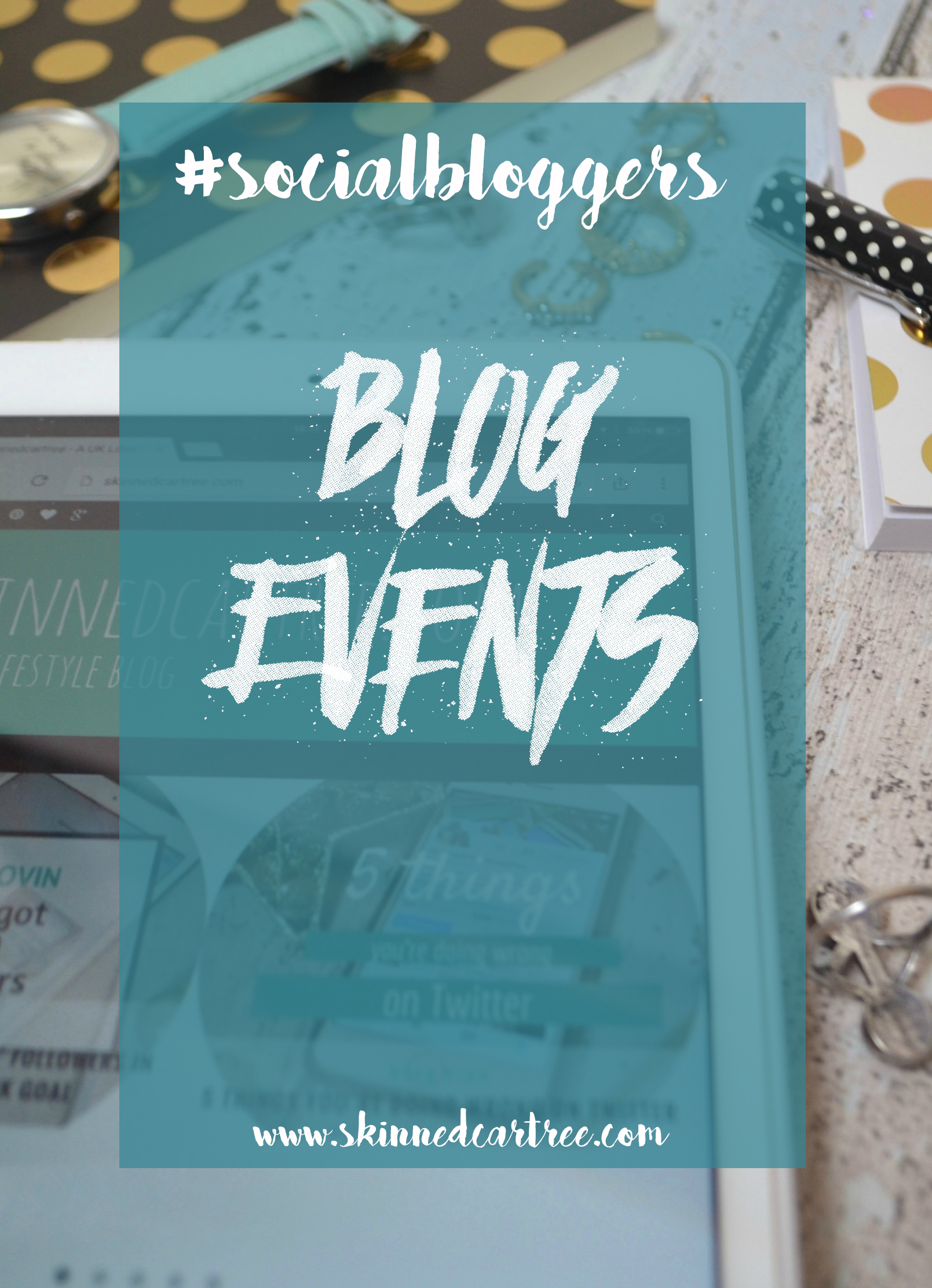 #socialbloggers weekly Twitter chat about going to blog events and how to prepare for blog events