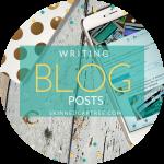 #socialbloggers 89 // Writing Posts