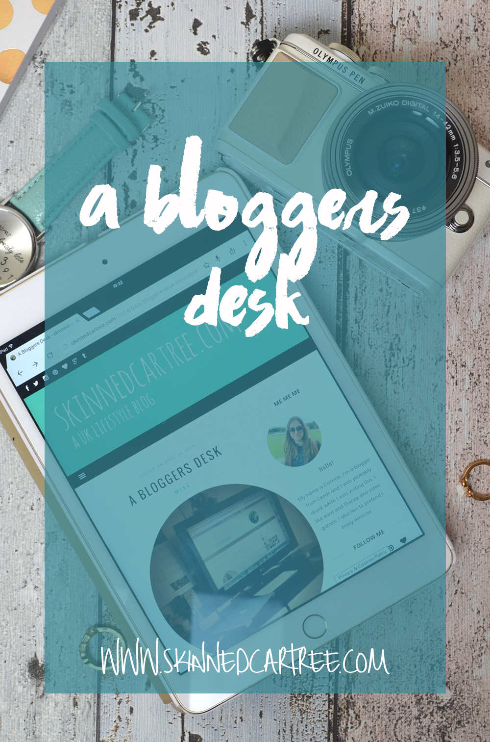 A new blog post about my blogging desk and space where create my blog posts!