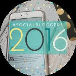 #socialbloggers 87 // Bloggers Goals for 2016