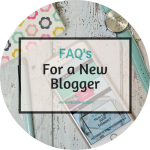 FAQ's for New Bloggers