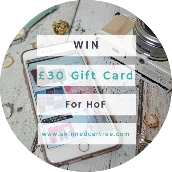 house of fraser giveaway