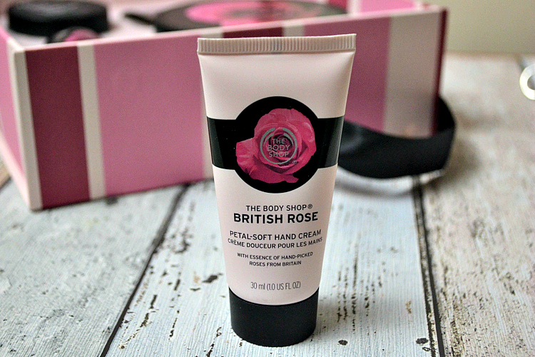 The Body Shop New British Rose Collection