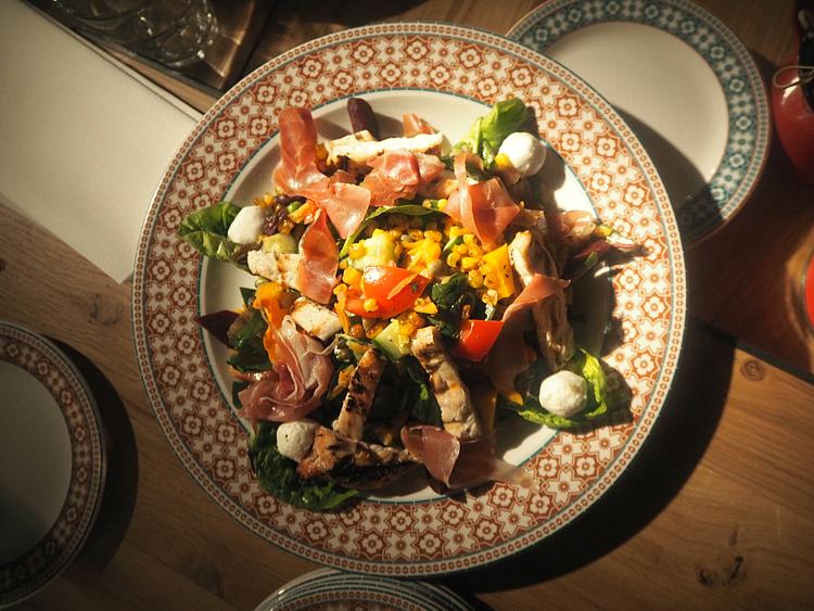 Revolucion De Cuba Leeds chicken salad