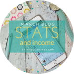 March Stats and Blog Income