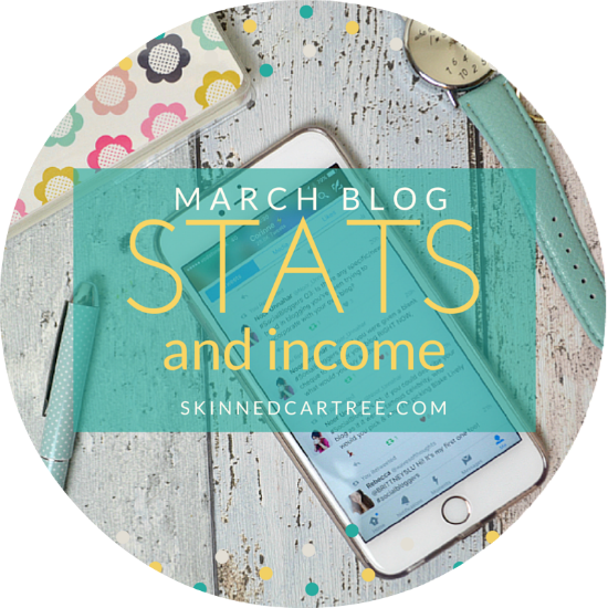 blog stats and blog income
