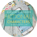 #socialbloggers 104 // Your Favourite Characters and Blogging