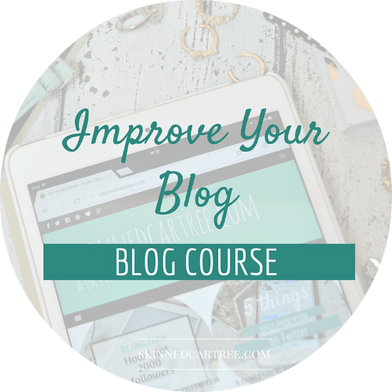 improve your blog course