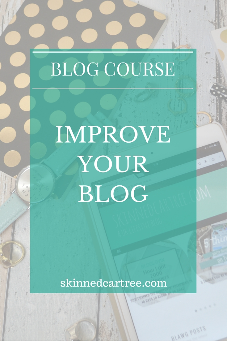 improve your blog free blog course